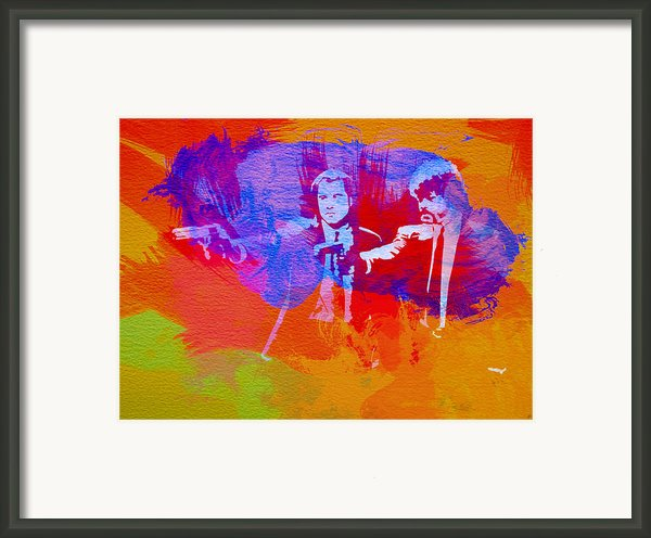 Pulp Fiction 2 Framed Print By Irina  March