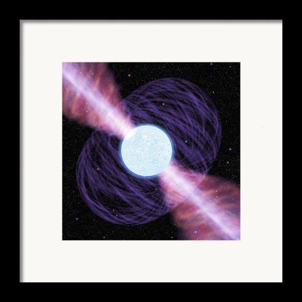 Pulsar Framed Print By Chris Butler