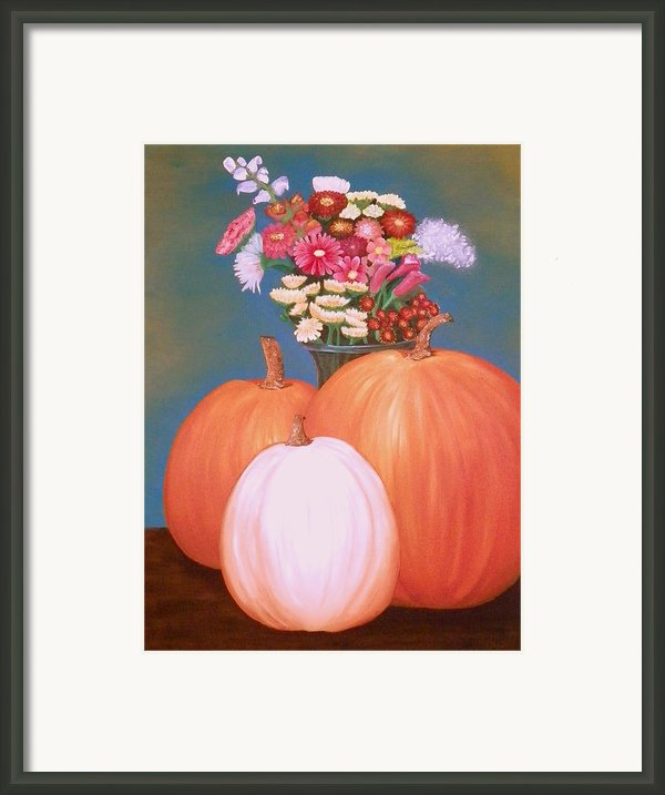 Pumpkin Framed Print By Amity Traylor