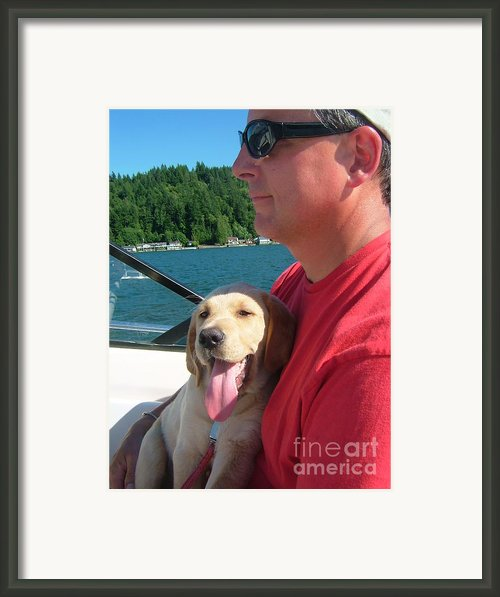 Puppy Love Framed Print By Terri Thompson
