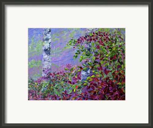 Purple Haze Framed Print By Joanne Smoley