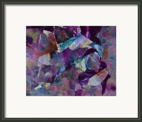 Purple Passion  Framed Print By Don  Wright