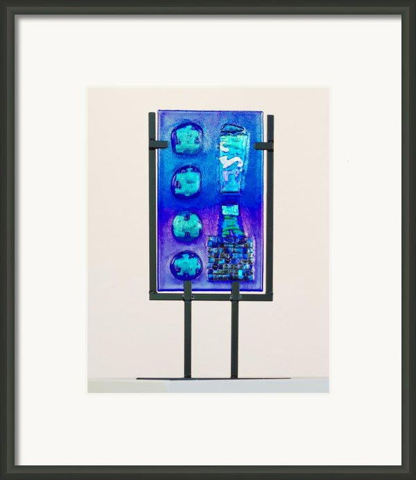 Puzzlestones And Other Oddities Framed Print By Mark Lubich