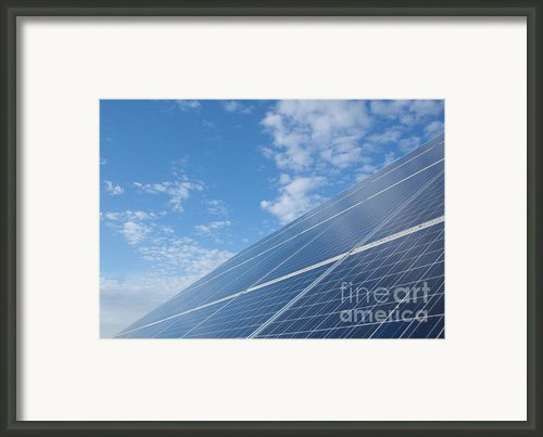 Pv Sky Framed Print By David Shaffer