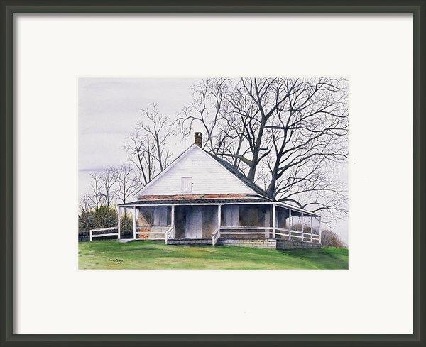 Quaker Meeting House Framed Print By Tom Dorsz