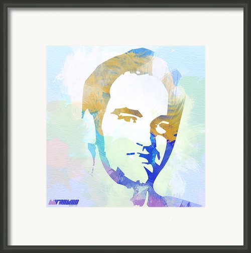 Quentin Tarantino Framed Print By Irina  March
