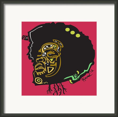 Questlove  Framed Print By Kamoni Khem