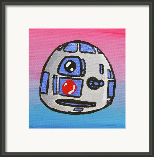 R2-d2 Framed Print By Jera Sky