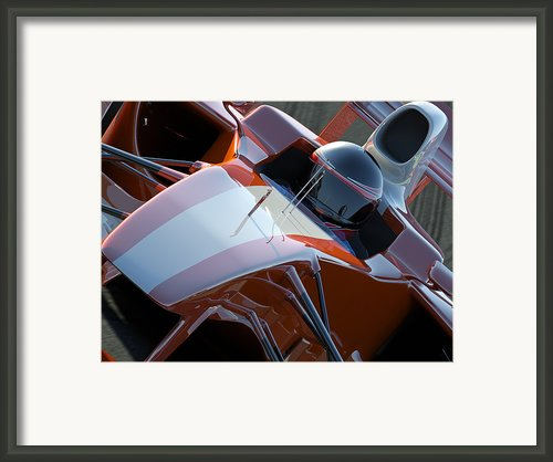 Racing Car Framed Print By Mark Evans