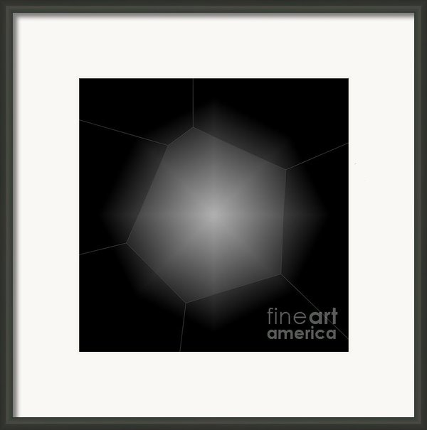 Radiance - Abstract Art Framed Print By Carol Groenen