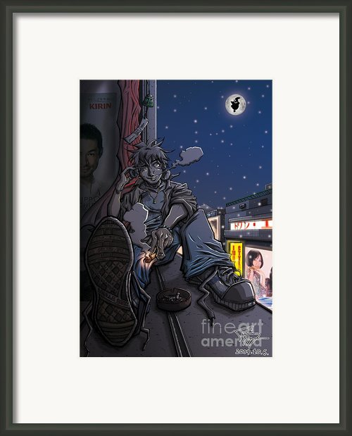Radical Dreamer Framed Print By Tuan Hollaback