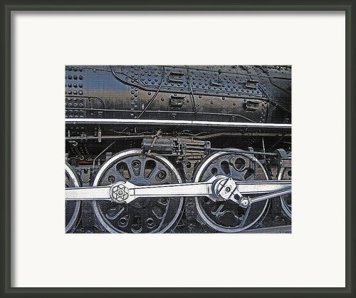 Railroad Museum 2 Framed Print By Steve Ohlsen