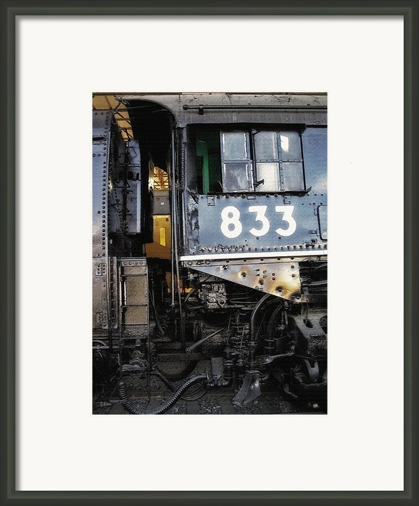 Railroad Museum 3 Framed Print By Steve Ohlsen
