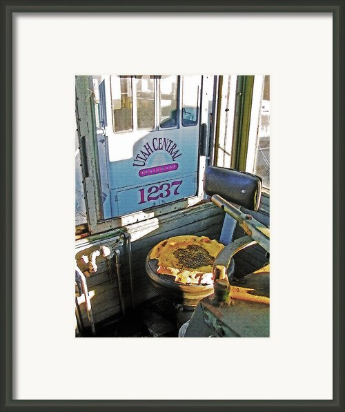 Railroad Museum 7 Framed Print By Steve Ohlsen