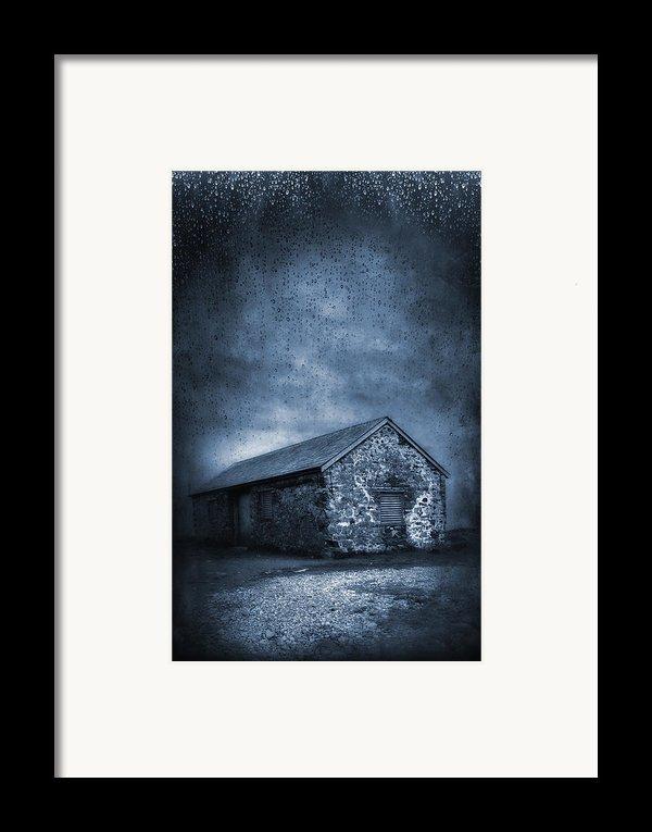 Rain Framed Print By Svetlana Sewell