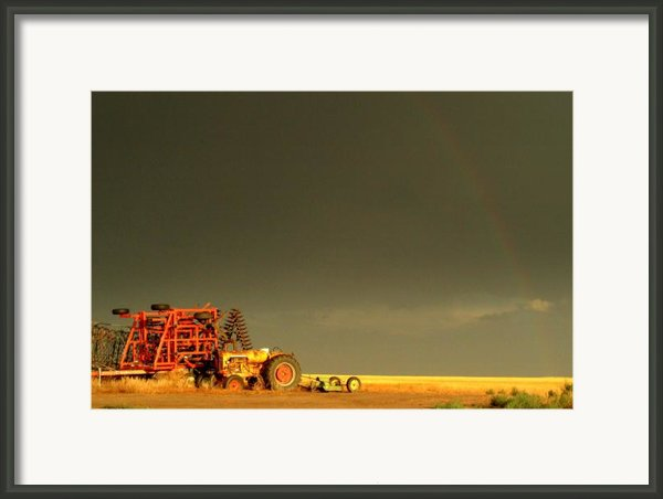 Rainbow Harvest.. Framed Print By Al  Swasey