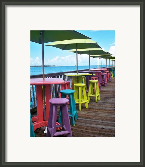 Rainbow Of Keys Framed Print By Chris Andruskiewicz