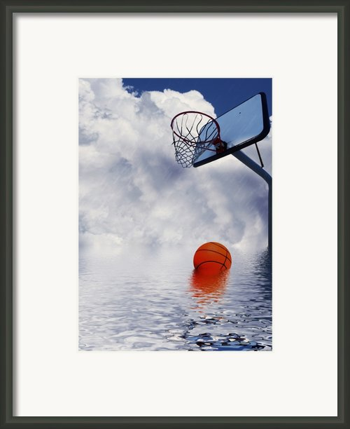 Rained Out Game Framed Print By Gravityx Designs