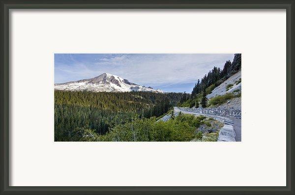 Rainier Journey Framed Print By Mike Reid