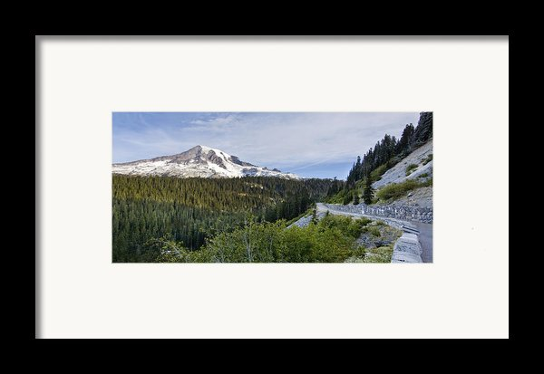 Rainier Journey Framed Print By Mike Reid