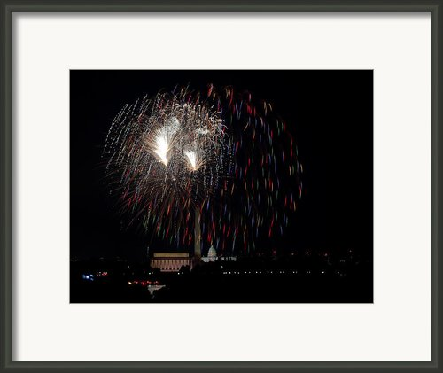 Raining Fire Framed Print By David Hahn