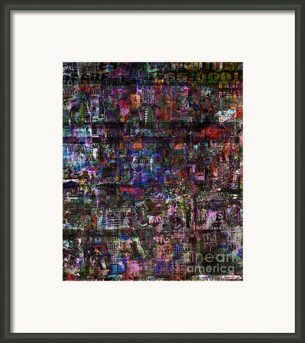 Random 515 Framed Print By Andy  Mercer