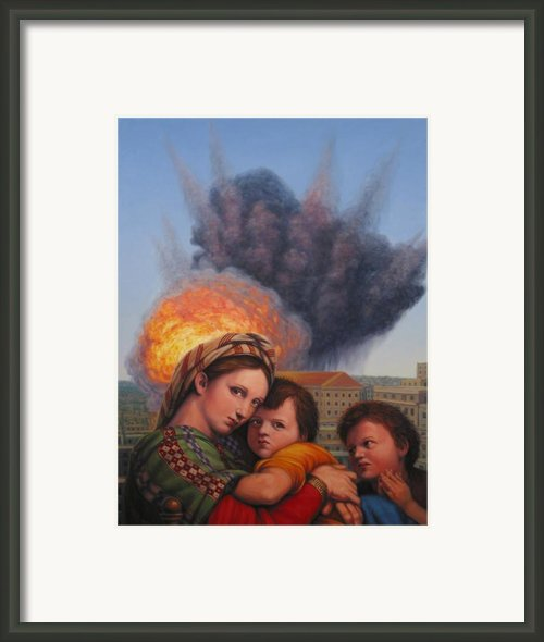 Raphael Moderne Framed Print By James W Johnson