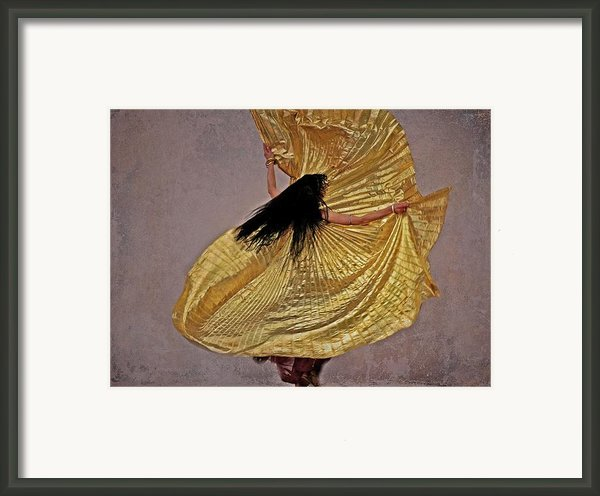 Raqs Sharqi Framed Print By Odd Jeppesen