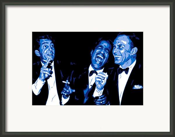 Rat Pack At Carnegie Hall Framed Print By Db Artist