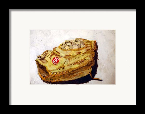 Rbg 36 Dale Murphy  Framed Print By Jame Hayes