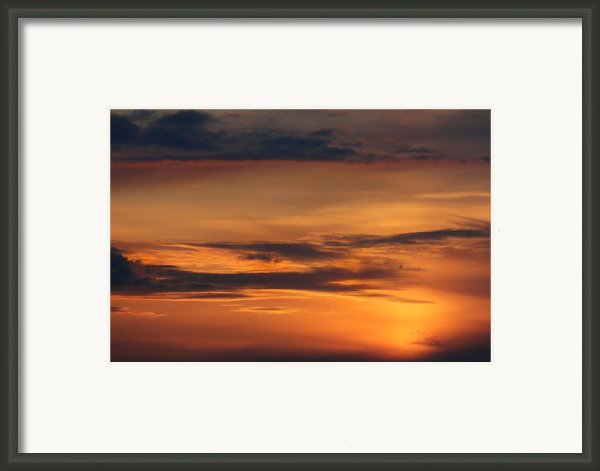 Reach For The Sky 10 Framed Print By Mike Mcglothlen