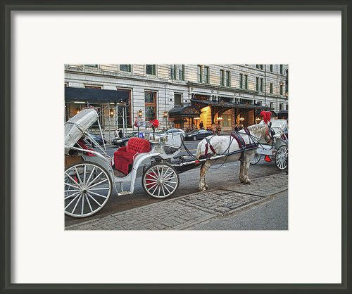 Ready For A Ride Framed Print By Kathy Jennings