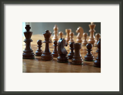 Ready For Battle Framed Print By Frank Mari