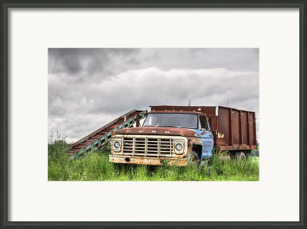 Ready For The Harvest Framed Print By Jc Findley