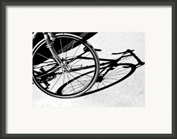 Ready To Ride Framed Print By Susan Leggett