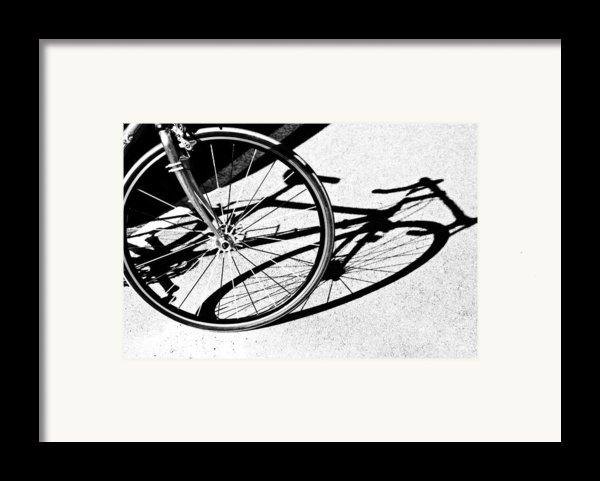Ready To Ride Framed Print By Susan Leggett