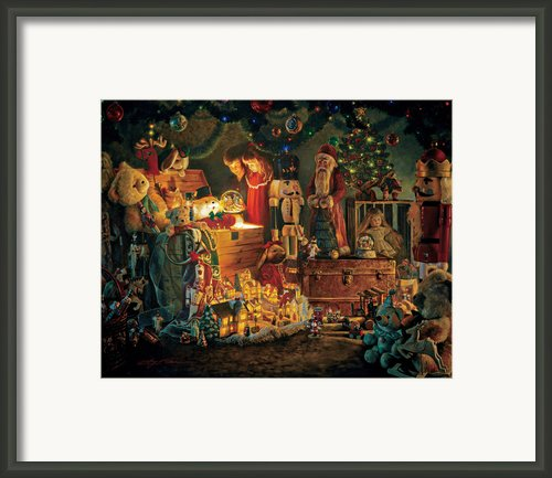 Reason For The Season Framed Print By Greg Olsen