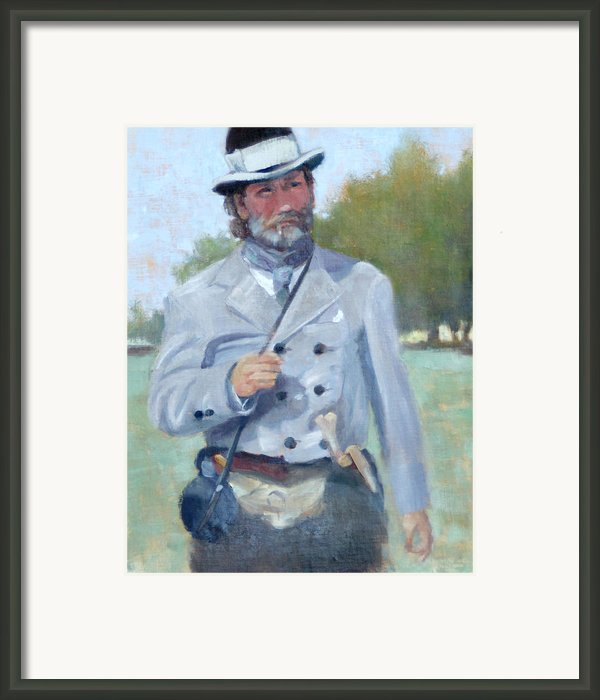 Rebel Dandy Framed Print By Sandra Harris