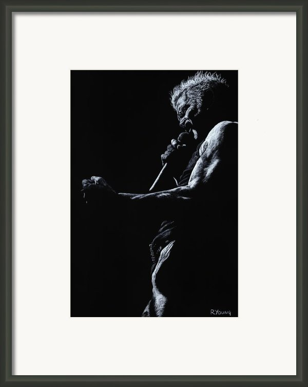 Rebel Yell 1 Framed Print By Richard Young