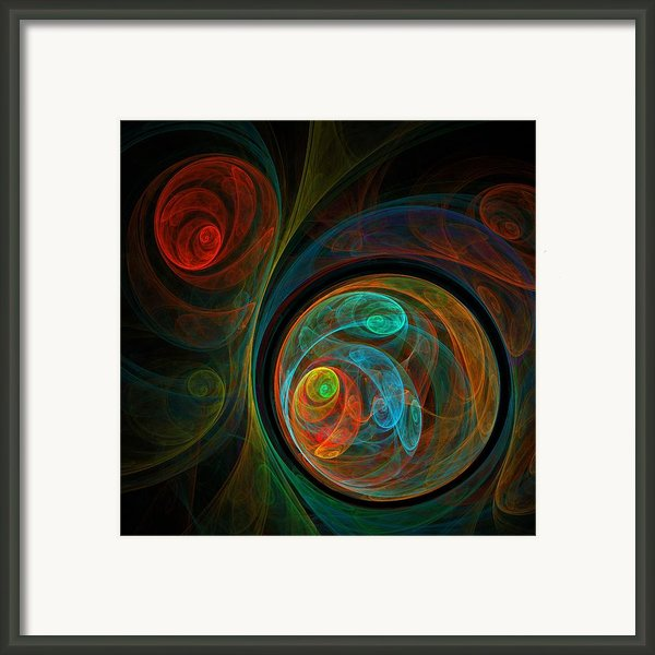 Rebirth Framed Print By Oni H