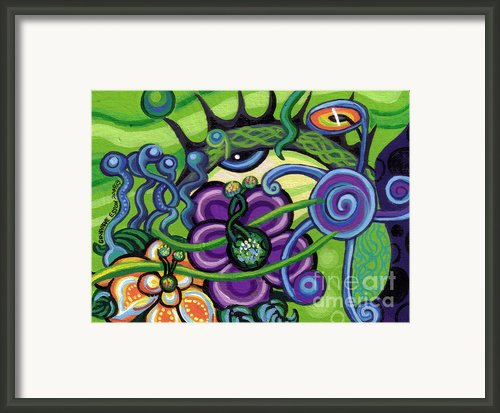 Reciprocal Liason Of The Sea Ii Framed Print By Genevieve Esson