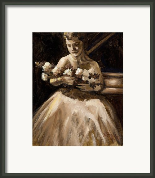 Recital Framed Print By Billie Colson