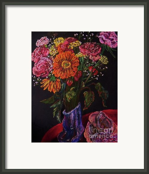 Recital Bouquet Framed Print By Emily Michaud