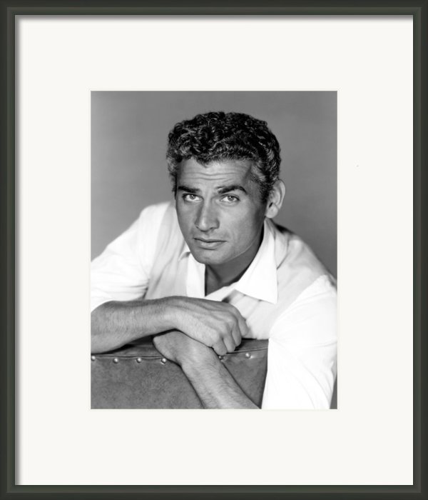 Red Ball Express, Jeff Chandler, 1952 Framed Print By Everett