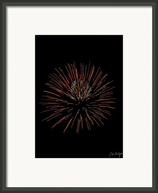 Red Ball Framed Print By Phill  Doherty