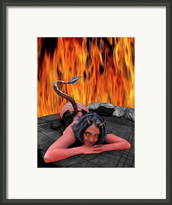 Red Hot Framed Print By Steven Love