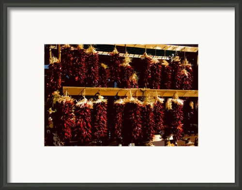 Red Peppers Framed Print By David Lee Thompson
