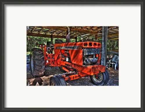 Red Rider Framed Print By Joetta West