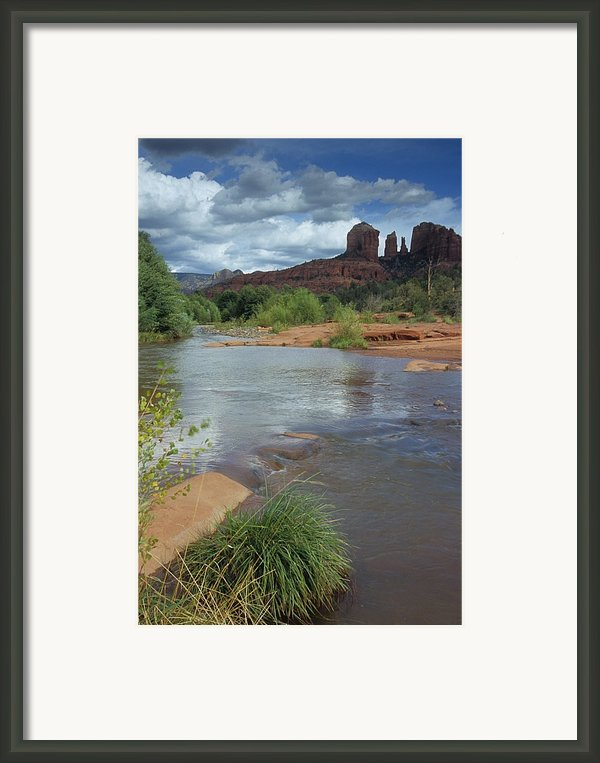 Red Rock Crossing In Sedona, Arizona Framed Print By David Edwards