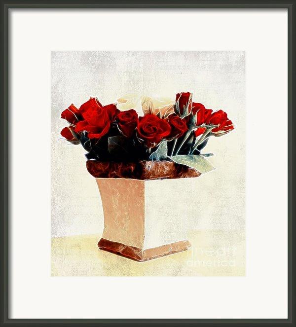 Red Roses Framed Print By Sven Pfeiffer